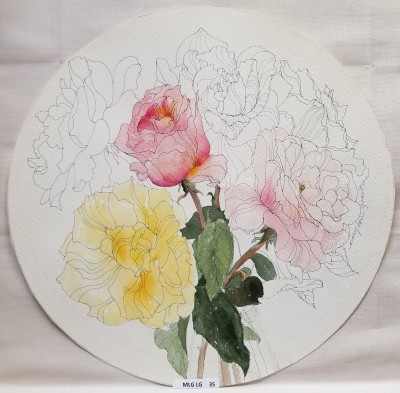 Roses plate prototype
